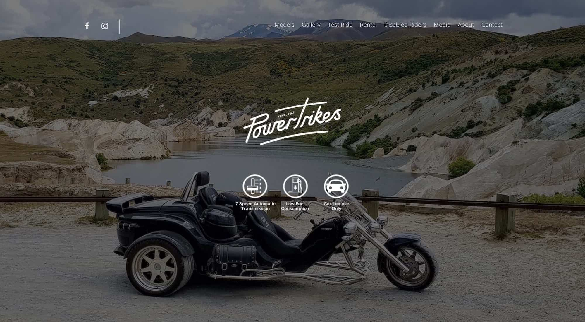NZ Power Trikes