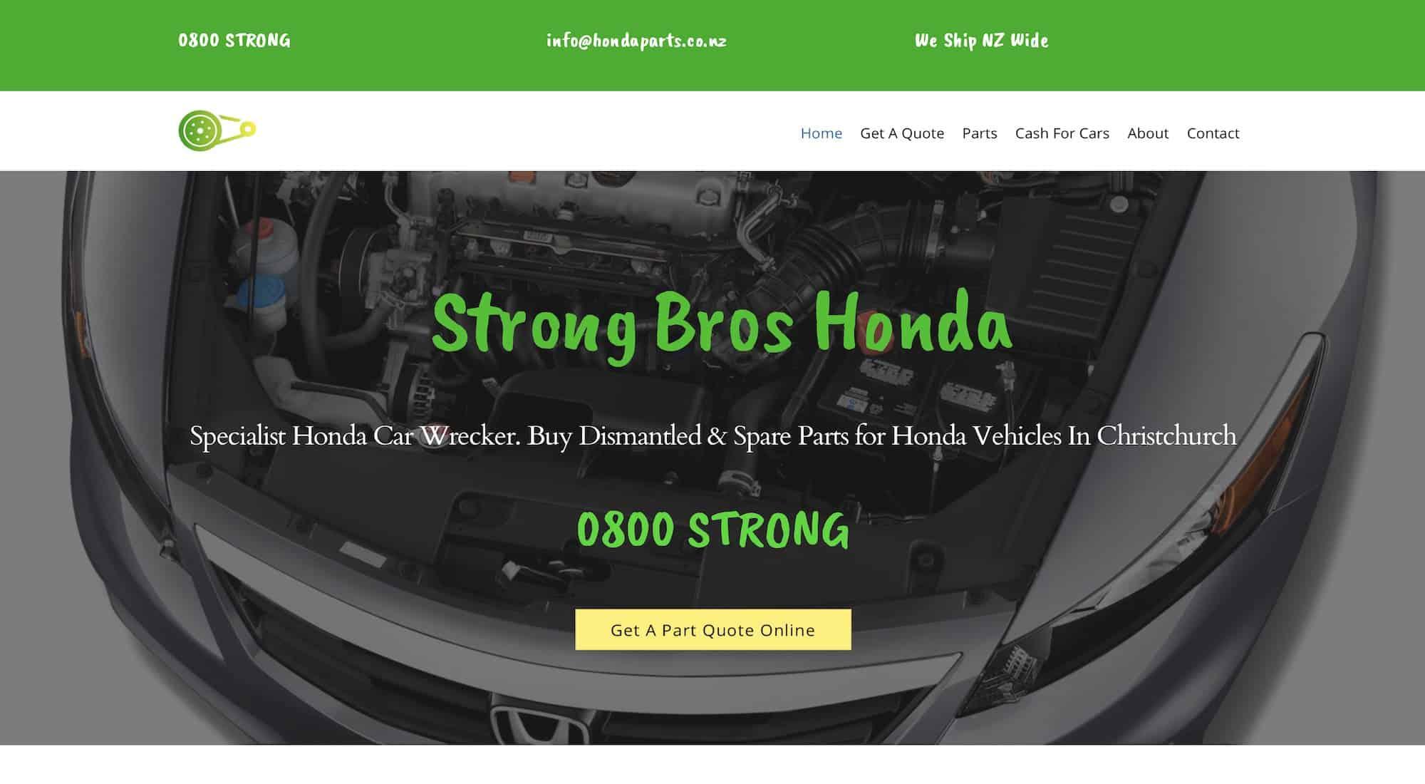 Strong Bros Honda